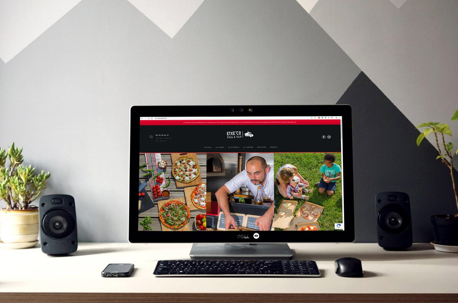 site-internet-pizza-exteco-la-mine-biarritz